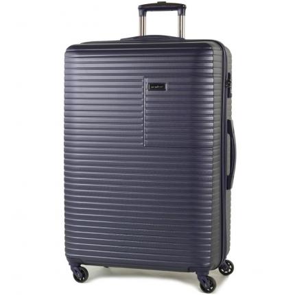 Cestovní kufr MEMBER'S TR-0153/3-L ABS - modrá - 2. jakost