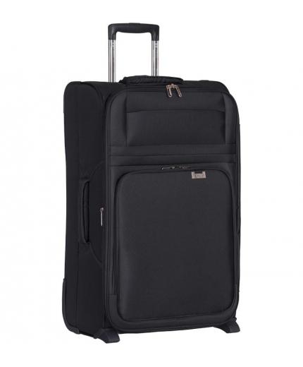 Cestovní kufr AEROLITE T-9515/3-L - černá - 2. jakost