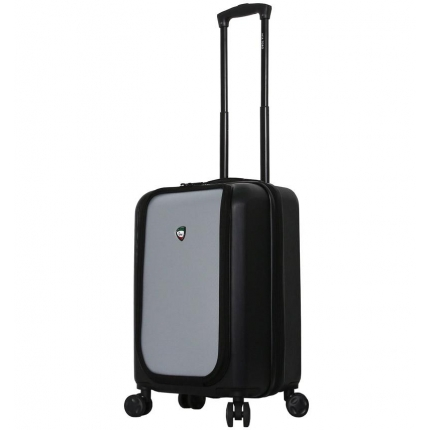 Cestovní kufr MIA TORO M1709/2-S - černá/stříbrná - 2. jakost