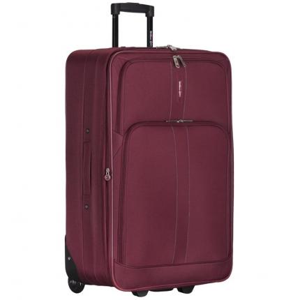Cestovní kufr CITIES T-605/4-L - vínová - 2. jakost