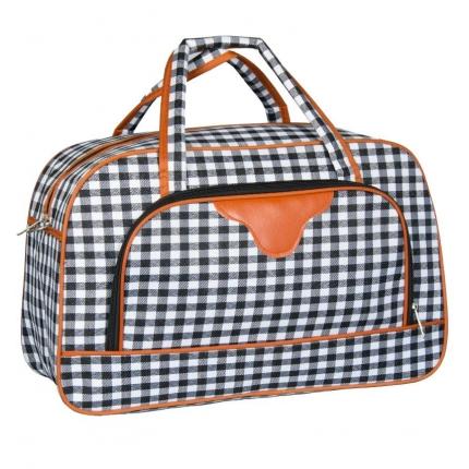 Cestovní taška REAbags LL37 - černá/bílá - 2. jakost