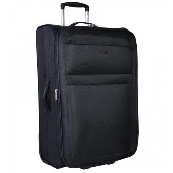 Kabinové zavazadlo SIROCCO T-938/3-50 - černá - 2. jakost