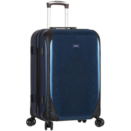 Cestovní kufr SIROCCO T-1159/3-L PC - modrá - 2. jakost