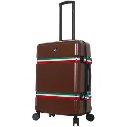 Cestovní kufr MIA TORO M1543/3-M - hnědá - 2. jakost
