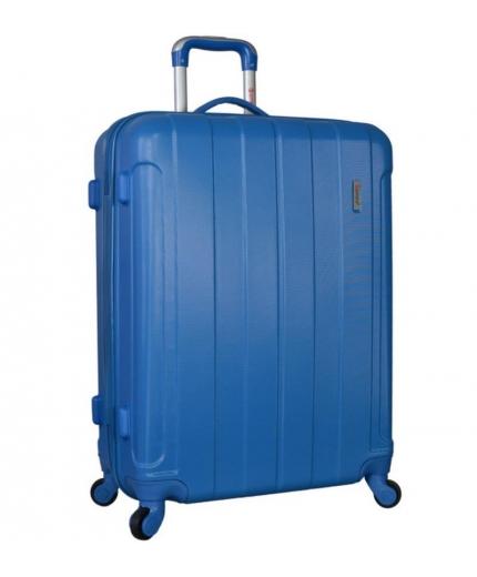 Cestovní kufr CITIES T-525/3-75 ABS - modrá - 2. jakost