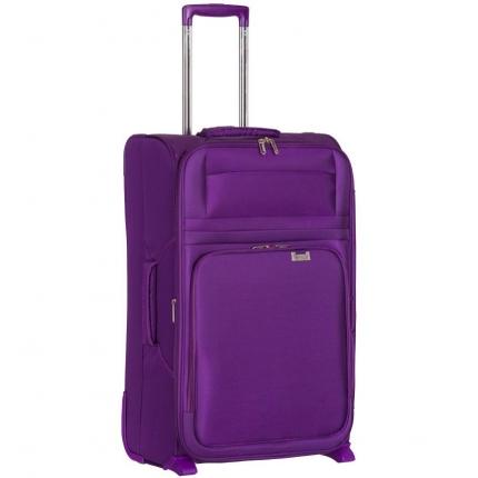 Kabinové zavazadlo AEROLITE T-9515/3-S - fialová - 2. jakost