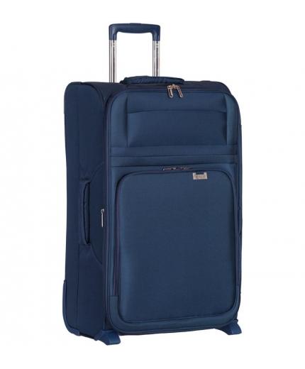 Cestovní kufr AEROLITE T-9515/3-M - tmavě modrá - 2. jakost