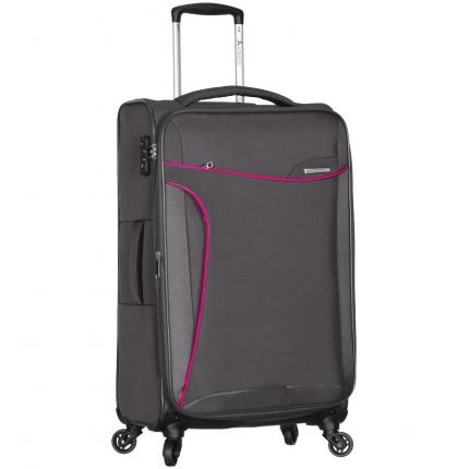 Cestovní kufr SIROCCO T-1201/3-M - šedá - 2. jakost