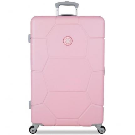 Cestovní kufr SUITSUIT® TR-1231/3-L ABS Caretta Pink Lady - 2. jakost