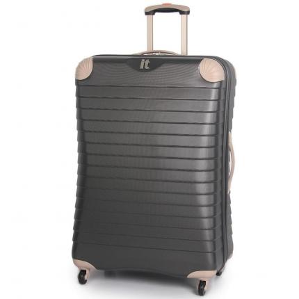 Cestovní kufr IT Luggage TR-1036/3-XL ABS - charcoal - 2. jakost