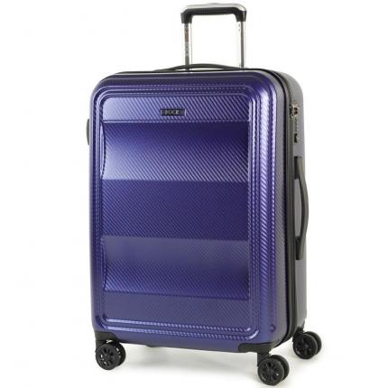 Cestovní kufr ROCK TR-0147/3-M PC - modrá - 2. jakost