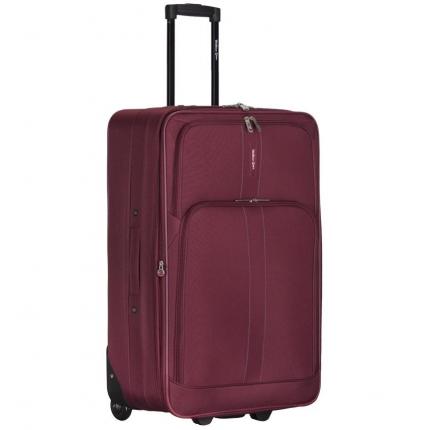 Kabinové zavazadlo CITIES T-605/4-S - vínová - 2. jakost