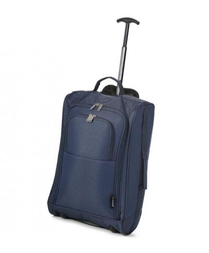 Kabinové zavazadlo CITIES T-830/1-55 - tmavě modrá - 2. jakost