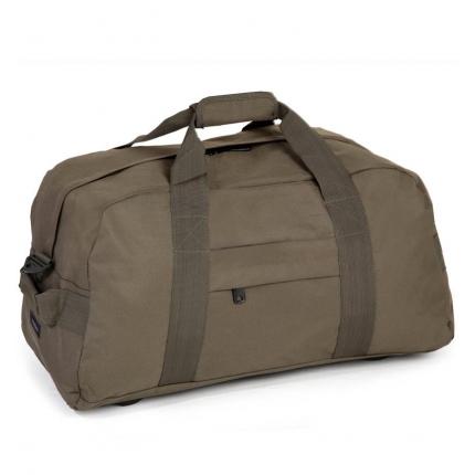 Cestovní taška MEMBER'S HA-0046 - khaki - 2. jakost