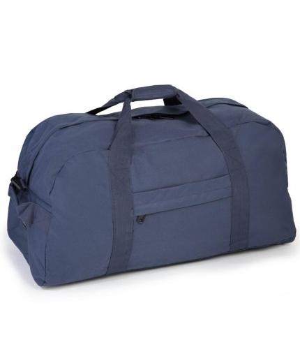 Cestovní taška MEMBER'S HA-0047 - modrá - 2. jakost