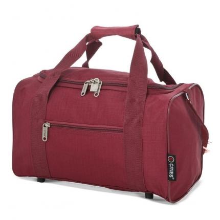 Cestovní taška CITIES 611 - vínová - 2. jakost