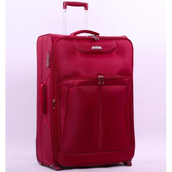 Cestovní kufr AEROLITE T-9985/2-M - vínová - 2. jakost