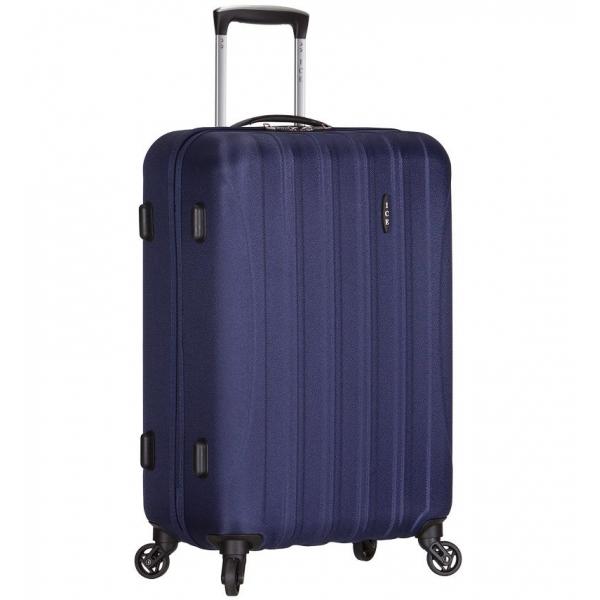 Cestovní kufr ICE T-1109/3-L ABS - modrá - 2. jakost